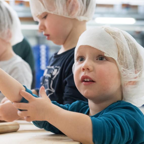 Kinde Backkurs in der Bio-Hofbäckerei Mauracher