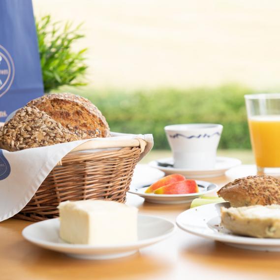 Frisches Bio Frühstück genießen